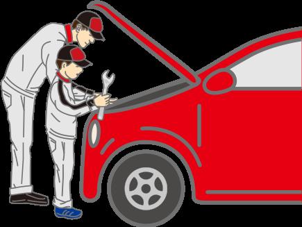 ビジネス車両仕込みの技術力。